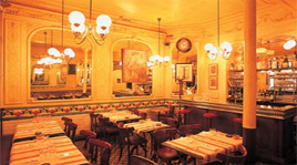 Picture of Aux Lyonnais bistro in Paris