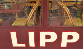 Lipp Brasserie is one of the oldest brasserie in Saint Germain des Pres district