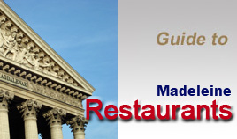 Guide to Paris restaurants : Places to eat and best tables in Concorde Madeleine district - Ambassadeurs, Celadon, Senderens, Maxim's, Grand Vefour