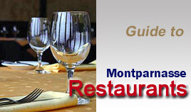 Guide to Montparnasse restaurants : find the right table