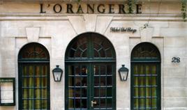 orangerie restaurant paris saint louis island. Black Bedroom Furniture Sets. Home Design Ideas