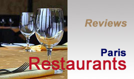 Rate the restaurant of your choice in Paris online